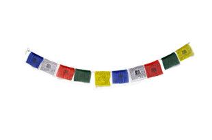 Banderas tibetanas.